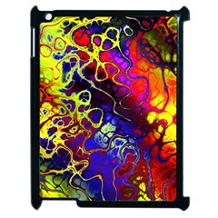 Awesome Fractal 35c Apple Ipad 2 Case (black)