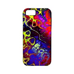 Awesome Fractal 35c Apple Iphone 5 Classic Hardshell Case (pc+silicone)