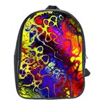 Awesome Fractal 35c School Bag (XL) Front