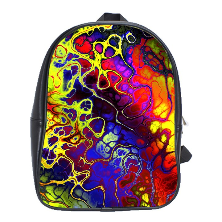 Awesome Fractal 35c School Bag (XL)