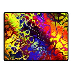 Awesome Fractal 35c Double Sided Fleece Blanket (small)
