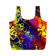 Awesome Fractal 35c Full Print Recycle Bags (m)