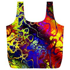 Awesome Fractal 35c Full Print Recycle Bags (l)