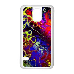 Awesome Fractal 35c Samsung Galaxy S5 Case (white)