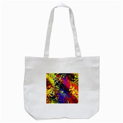 Awesome Fractal 35c Tote Bag (white)
