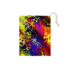 Awesome Fractal 35c Drawstring Pouches (small)