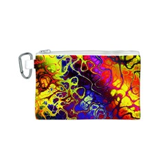 Awesome Fractal 35c Canvas Cosmetic Bag (s)