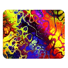 Awesome Fractal 35c Double Sided Flano Blanket (large)
