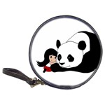 Girl and Panda Classic 20-CD Wallets Front