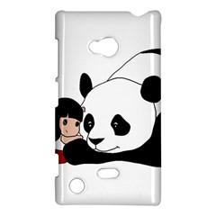 Girl And Panda Nokia Lumia 720