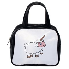 Unicorn Sheep Classic Handbags (one Side)