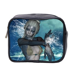 The Wonderful Water Fairy With Water Wings Mini Toiletries Bag 2 Side