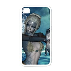The Wonderful Water Fairy With Water Wings Apple Iphone 4 Case (white)