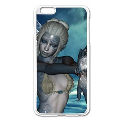The Wonderful Water Fairy With Water Wings Apple Iphone 6 Plus/6s Plus Enamel White Case