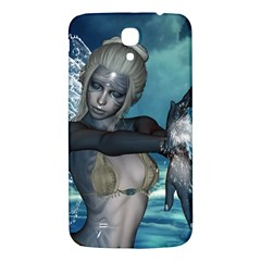 The Wonderful Water Fairy With Water Wings Samsung Galaxy Mega I9200 Hardshell Back Case