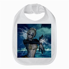 The Wonderful Water Fairy With Water Wings Bib