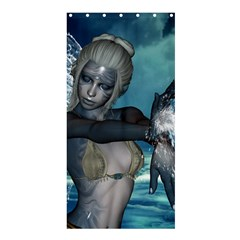 The Wonderful Water Fairy With Water Wings Shower Curtain 36  X 72  (stall)
