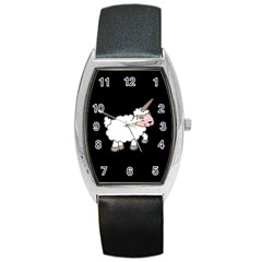 Unicorn Sheep Barrel Style Metal Watch