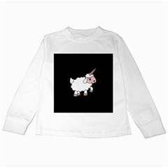 Unicorn Sheep Kids Long Sleeve T Shirts