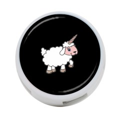 Unicorn Sheep 4 Port Usb Hub (two Sides)