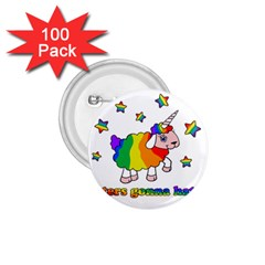 Unicorn Sheep 1 75  Buttons (100 Pack)