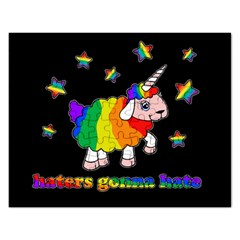 Unicorn Sheep Rectangular Jigsaw Puzzl