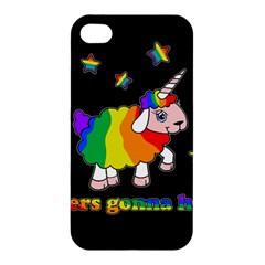 Unicorn Sheep Apple Iphone 4/4s Hardshell Case