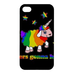 Unicorn Sheep Apple Iphone 4/4s Premium Hardshell Case