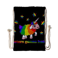 Unicorn Sheep Drawstring Bag (small)