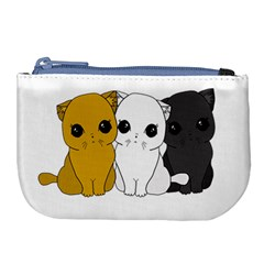 Cute Cats Large Coin Purse