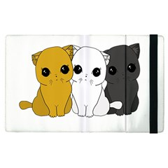 Cute Cats Apple Ipad Pro 9 7   Flip Case