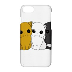 Cute Cats Apple Iphone 7 Hardshell Case
