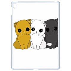 Cute Cats Apple Ipad Pro 9 7   White Seamless Case