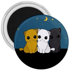 Cute Cats 3  Magnets