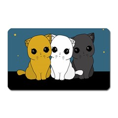 Cute Cats Magnet (rectangular)