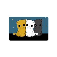 Cute Cats Magnet (name Card)