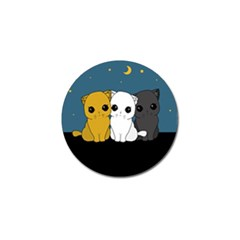 Cute Cats Golf Ball Marker