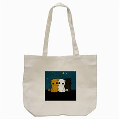 Cute Cats Tote Bag (cream)