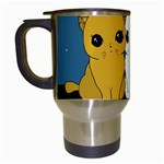 Cute cats Travel Mugs (White) Left