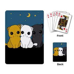 Cute Cats Playing Card