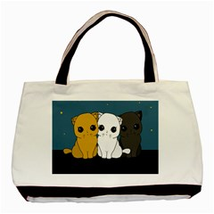 Cute Cats Basic Tote Bag