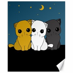 Cute Cats Canvas 16  X 20