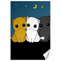 Cute Cats Canvas 20  X 30