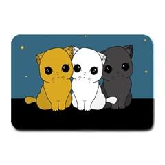 Cute Cats Plate Mats