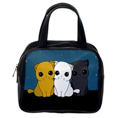 Cute Cats Classic Handbags (one Side)