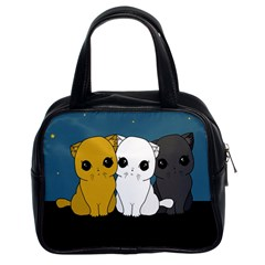 Cute Cats Classic Handbags (2 Sides)