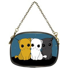 Cute Cats Chain Purses (one Side)