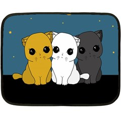 Cute Cats Fleece Blanket (mini)