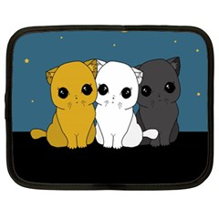 Cute Cats Netbook Case (xxl)