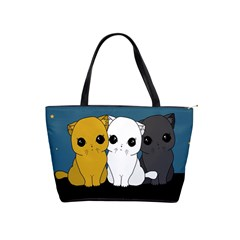 Cute Cats Shoulder Handbags